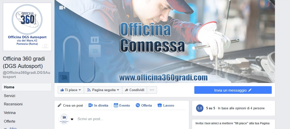 pagina facebook officina